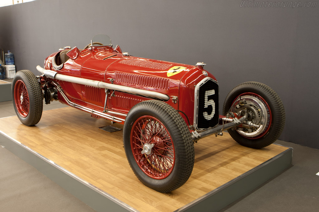 Alfa Romeo Tipo B P3 - Chassis: 50006   - 2011 Retromobile
