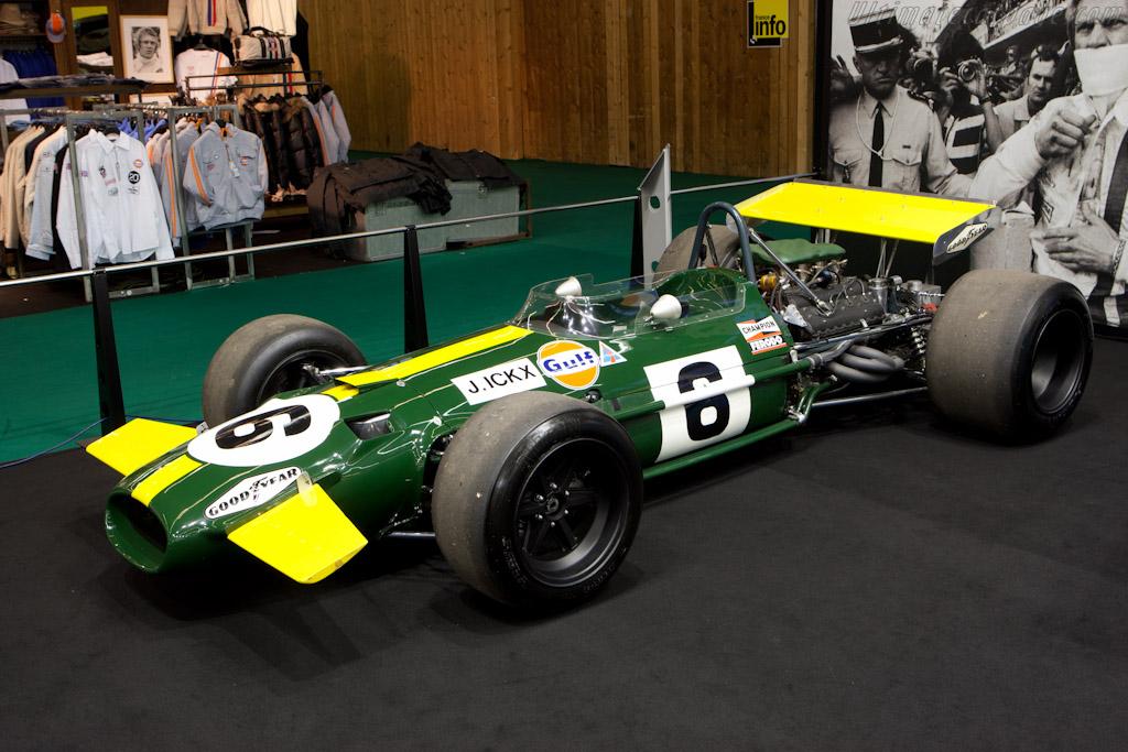 Brabham BT26 Cosworth - Chassis: BT26-4   - 2011 Retromobile