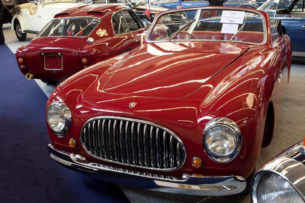 Cisitalia 202 Cabriolet - Chassis: 183C   - 2011 Retromobile