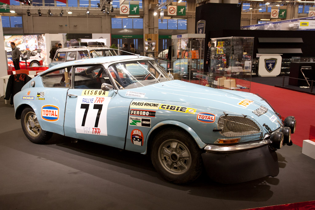Citroën DS Rally    - 2011 Retromobile