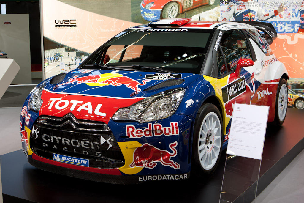 Citroën DS3 WRC    - 2011 Retromobile