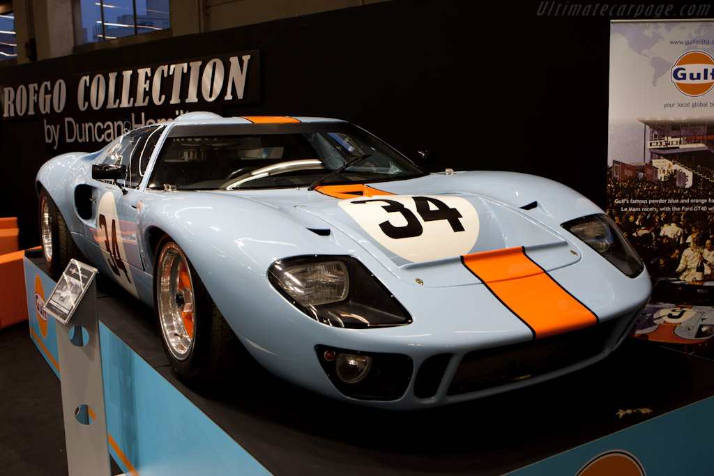 Ford GT40 - Chassis: GT40P/1084  - 2011 Retromobile