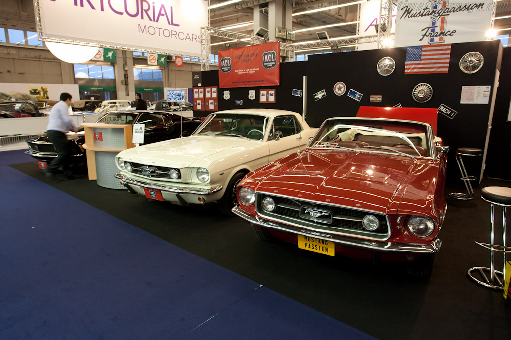 Ford Mustangs    - 2011 Retromobile