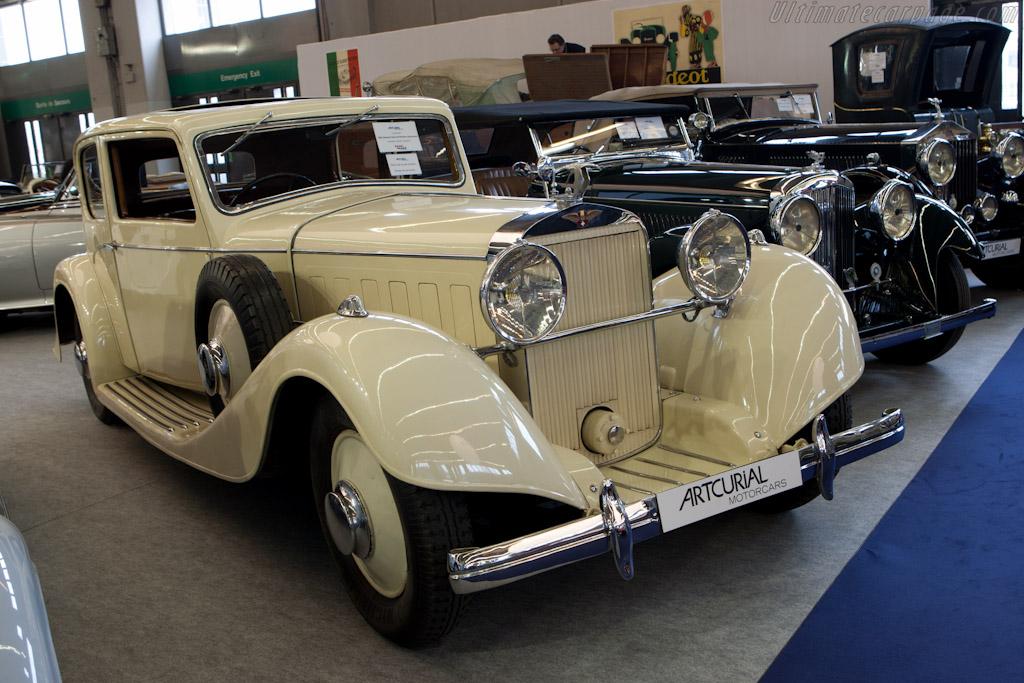 Hispano Suiza K6 Vanvooren Sedan - Chassis: 1601333031   - 2011 Retromobile
