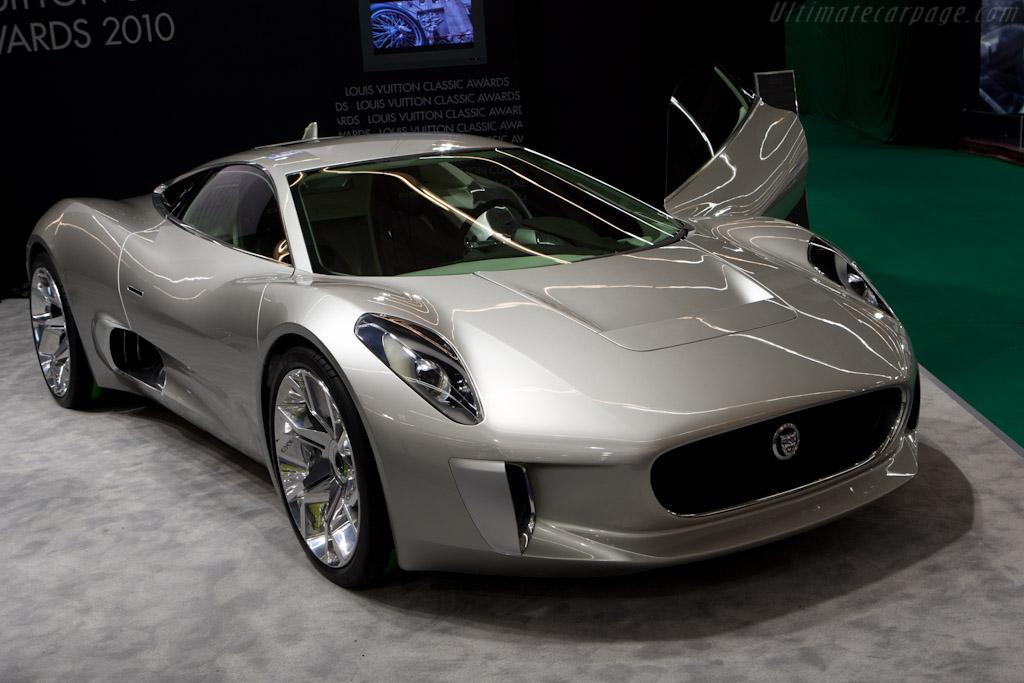 Jaguar C-X75 Concept    - 2011 Retromobile