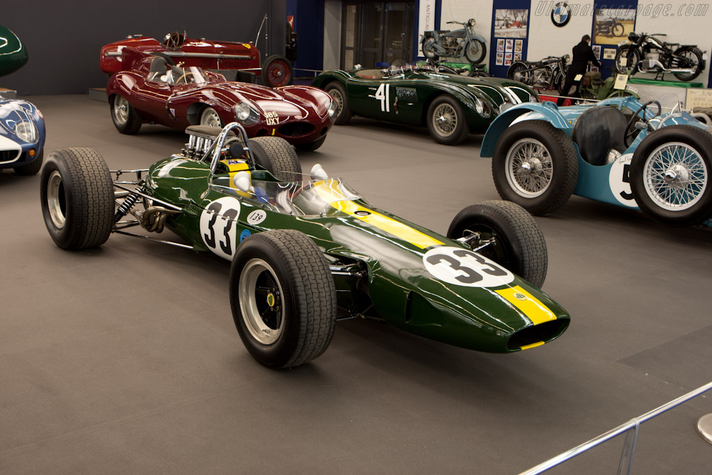 Lotus 33 Climax - Chassis: R10 - Entrant: Hall & Hall  - 2011 Retromobile