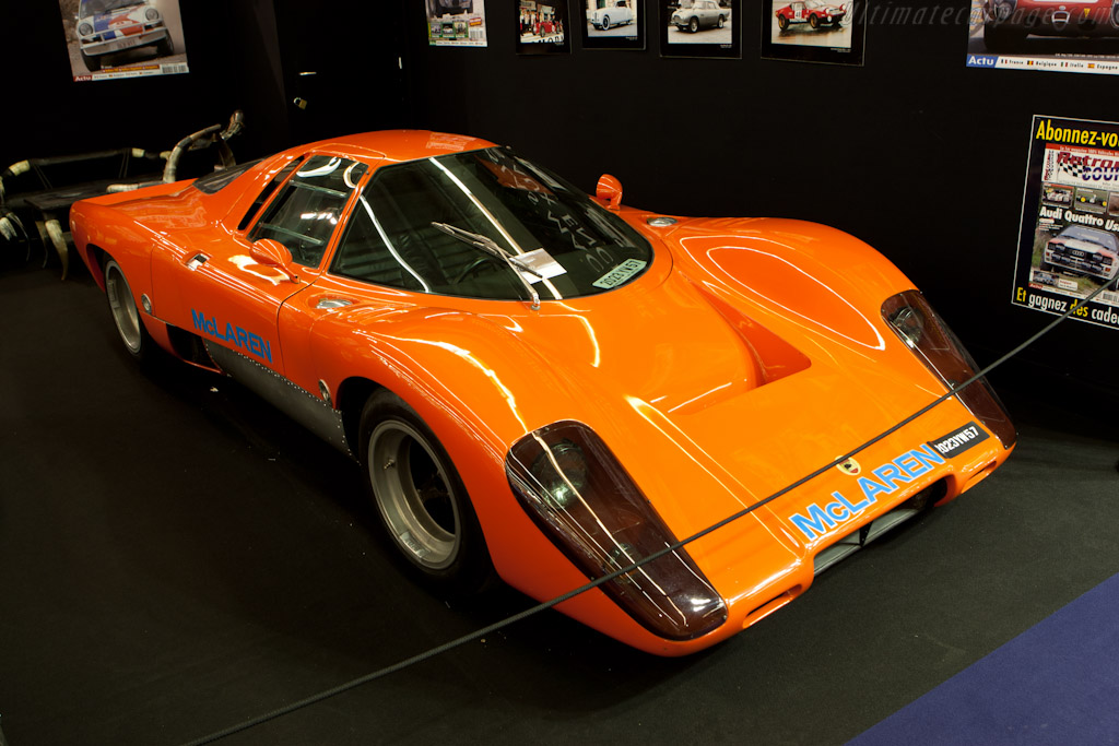 McLaren M12 Coupe - Chassis: 60-14   - 2011 Retromobile