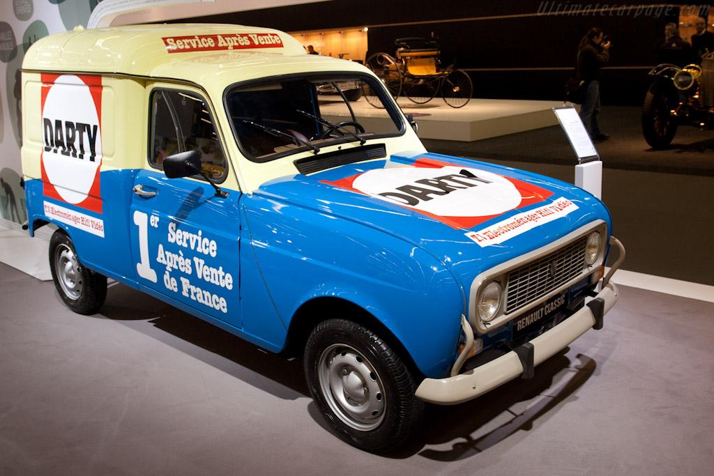Renault 4 at 50    - 2011 Retromobile