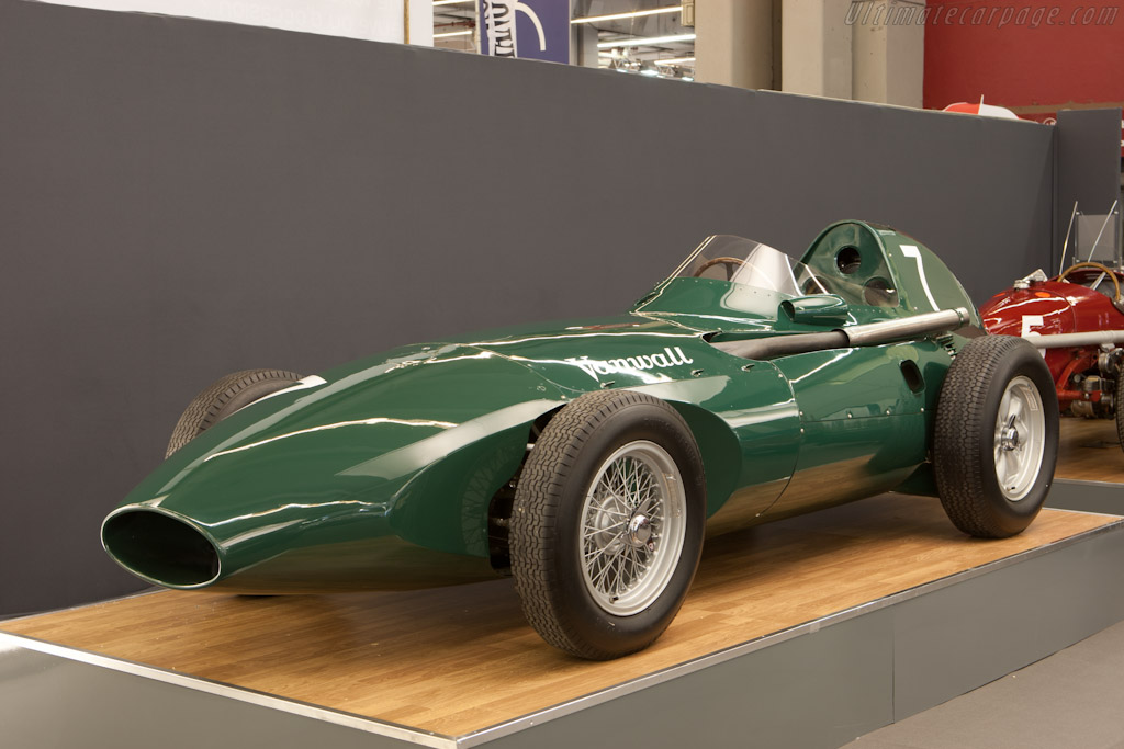 Vanwall VW9 - Chassis: VW9   - 2011 Retromobile