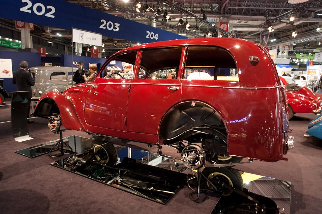 Peugeot 202 U Limousine    - 2012 Retromobile