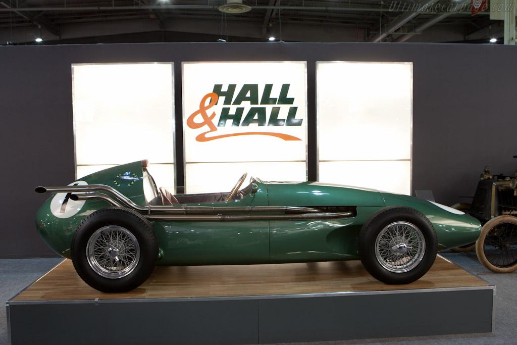 Aston Martin DBR4 - Chassis: DBR4/3 - Entrant: Hall & Hall - 2012 Retromobile