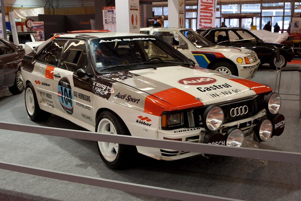 Audi Quattro Group 4    - 2012 Retromobile