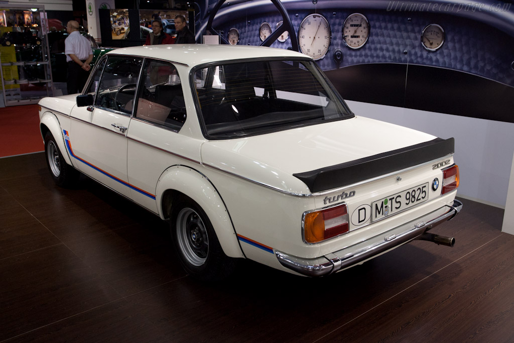 BMW 2002 Turbo    - 2012 Retromobile