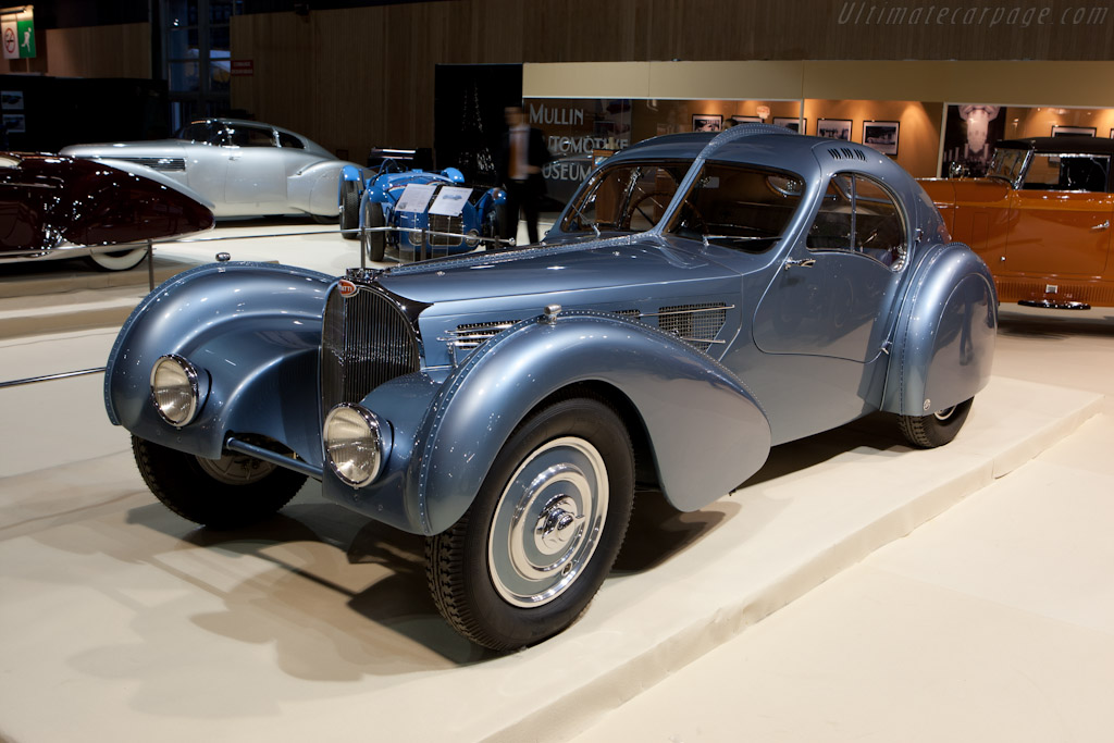 Bugatti Type 57 SC Atlantic Coupe - Chassis: 57473   - 2012 Retromobile