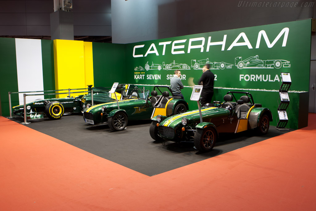 Caterham    - 2012 Retromobile