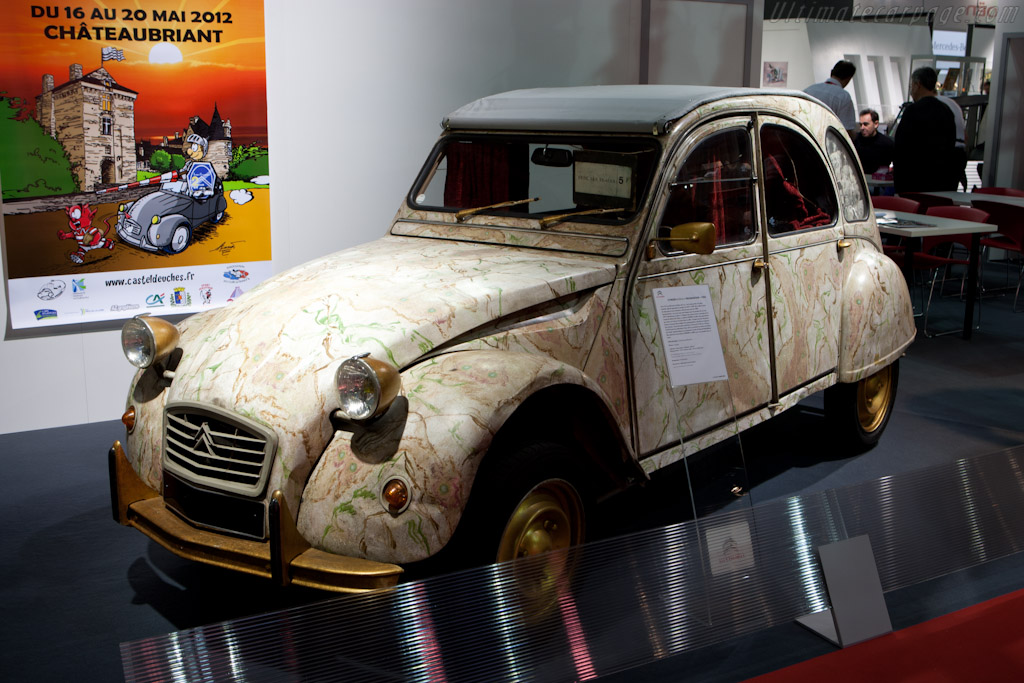 Citroën 2CV    - 2012 Retromobile