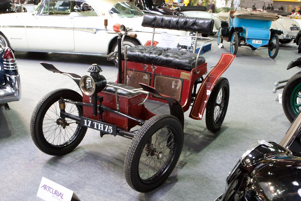 Decauville Voiturette - Chassis: 22   - 2012 Retromobile