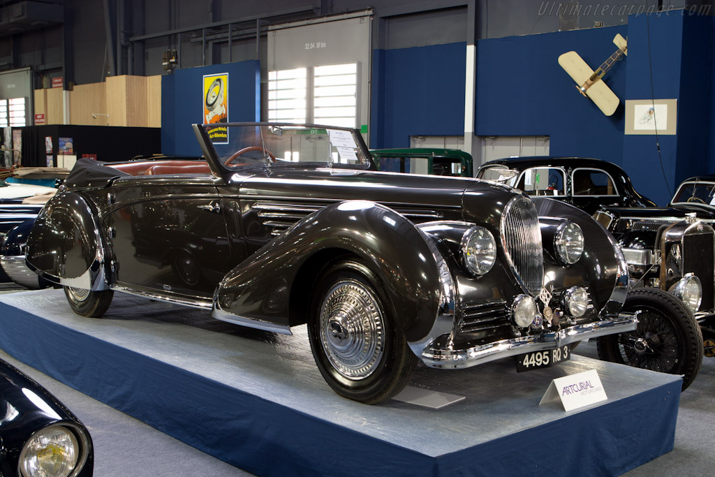 Delahaye 135 MS Franay Cabriolet - Chassis: 800932   - 2012 Retromobile