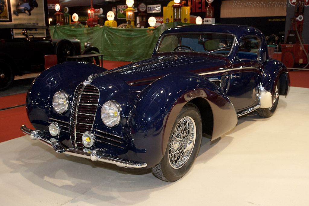 Delahaye 145 Chapron Coupe - Chassis: 48772   - 2012 Retromobile