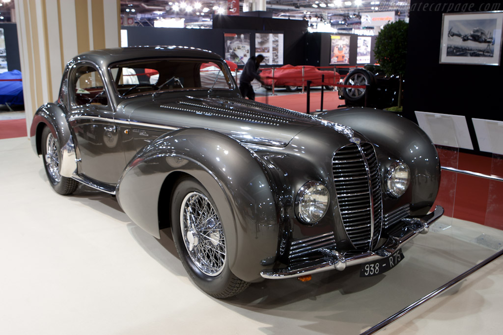 Delahaye 145 Chapron Coupe - Chassis: 48773   - 2012 Retromobile