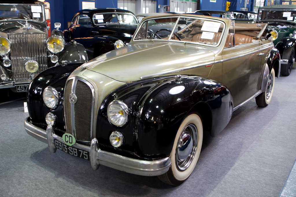 Hotchkiss 20.50 GS Cabriolet - Chassis: 11136   - 2012 Retromobile