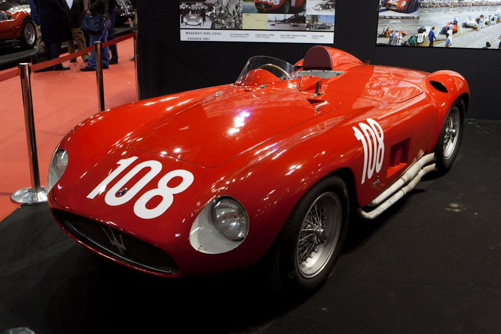Maserati 300 S - Chassis: 3061   - 2012 Retromobile
