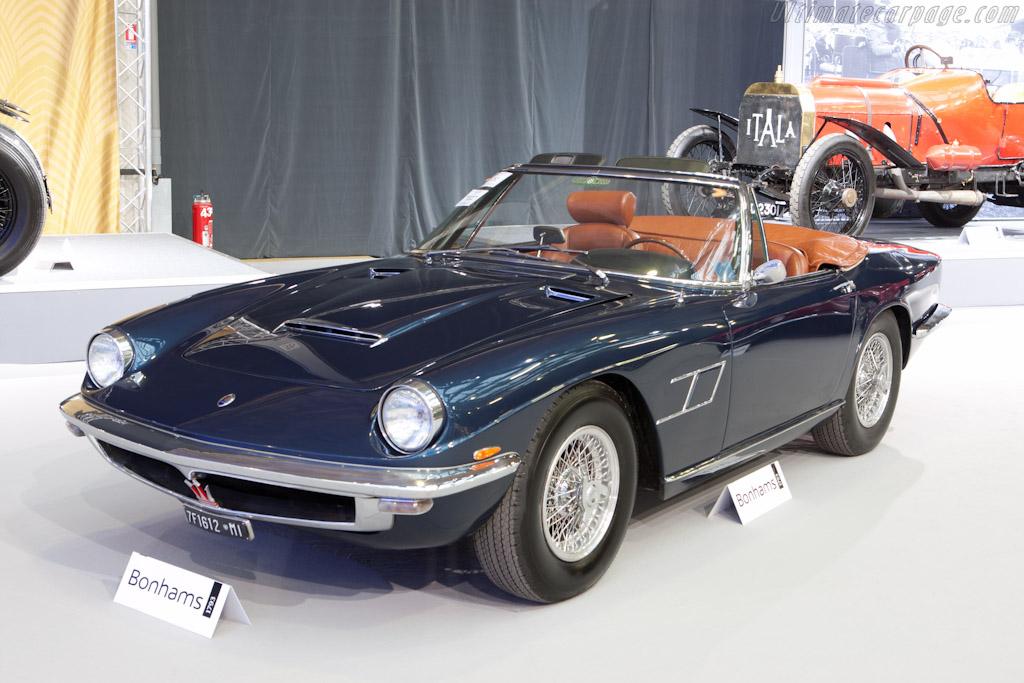 Maserati Mistral - Chassis: AM109/SA1 611  - 2012 Retromobile
