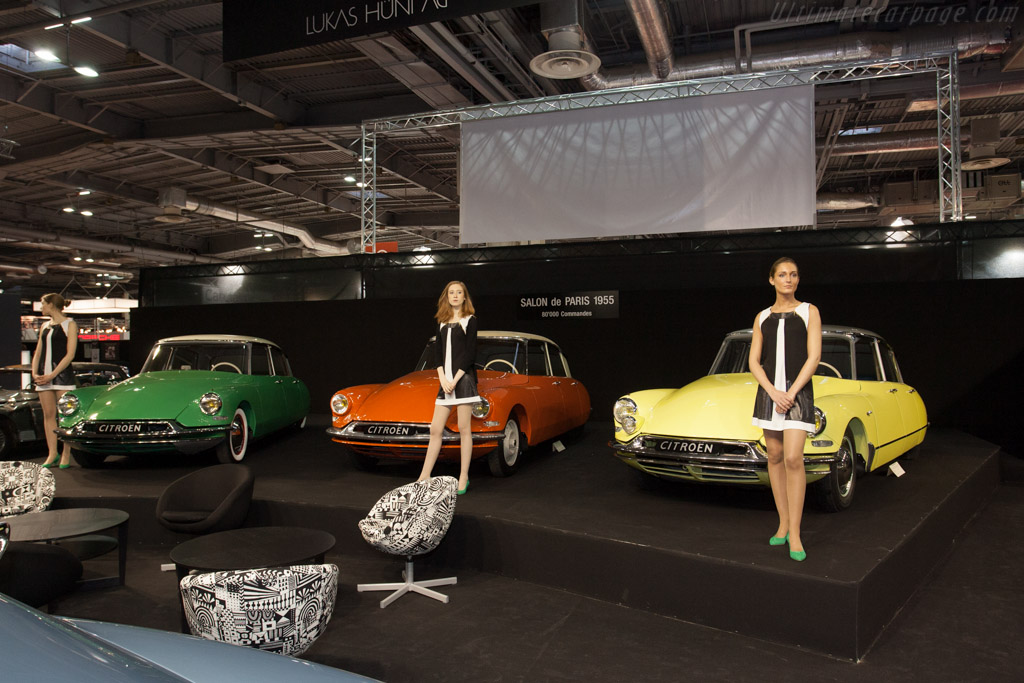 Citroën DS and ID    - 2013 Retromobile
