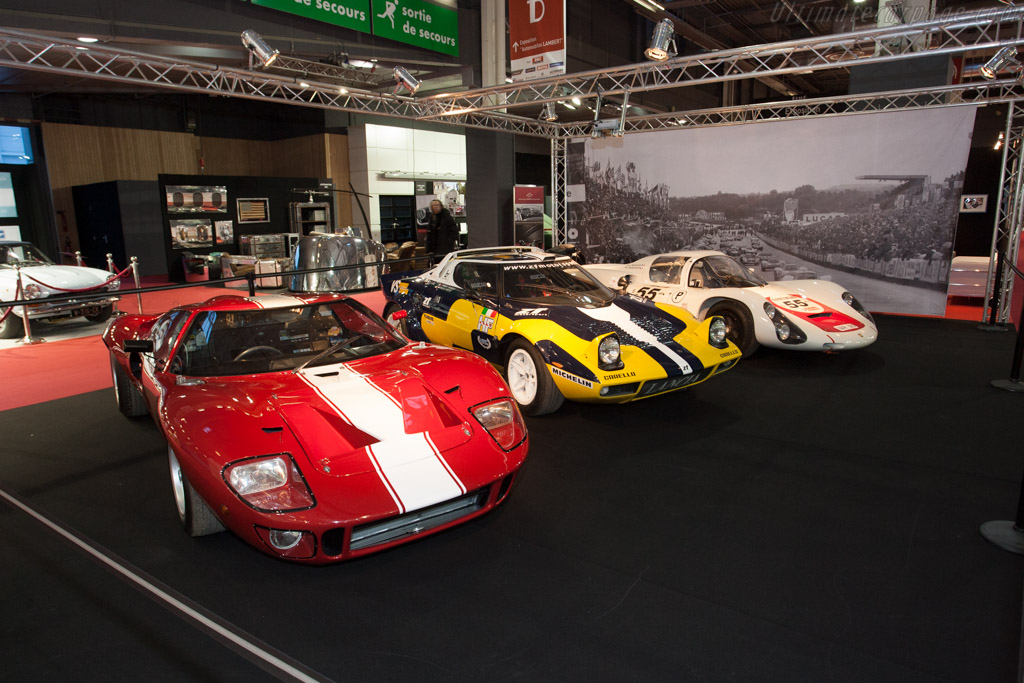 Evocative line-up    - 2013 Retromobile