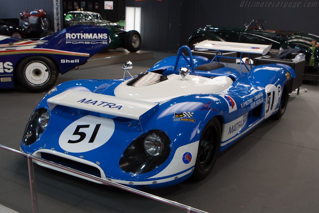 Matra MS650 - Chassis: MS650/01   - 2013 Retromobile