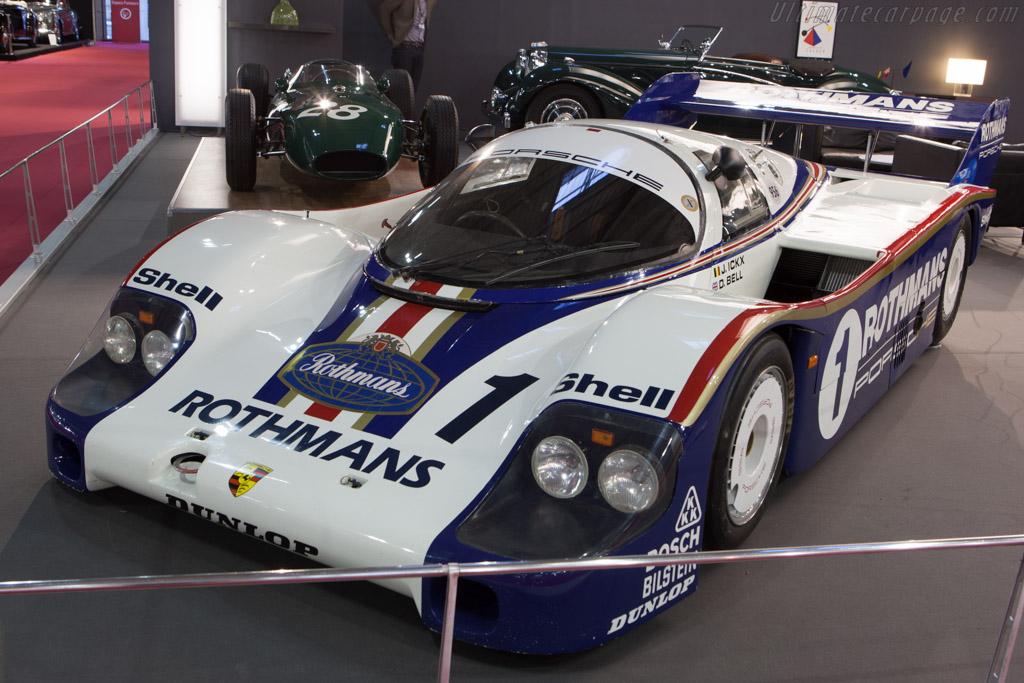 Porsche 956 - Chassis: 956-001   - 2013 Retromobile