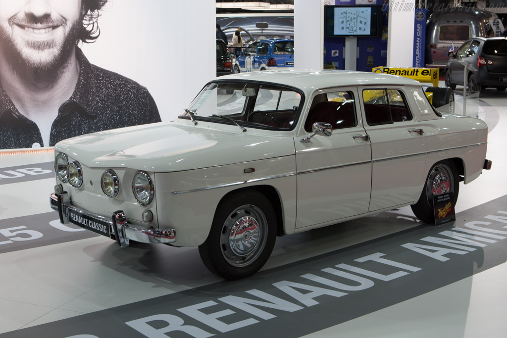 Renault 8    - 2013 Retromobile