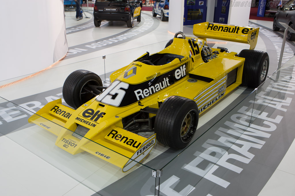 Renault RS01 - Chassis: RS 01/04   - 2013 Retromobile