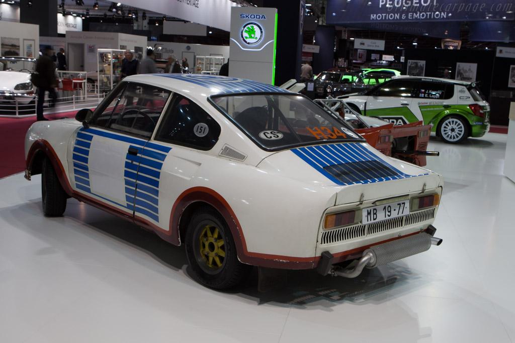 Skoda 130 RS    - 2013 Retromobile