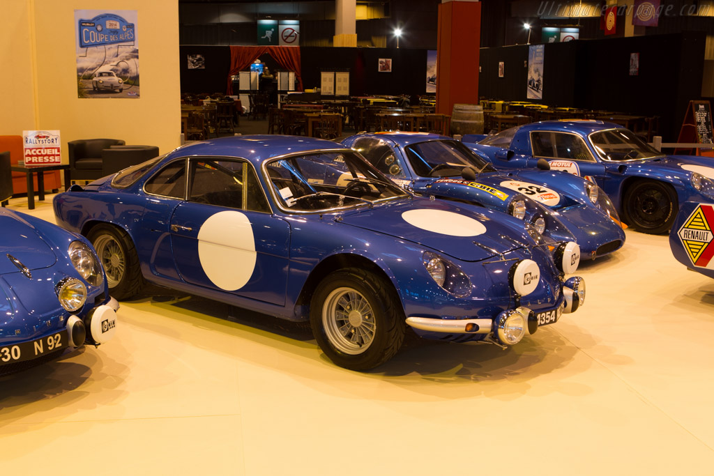 Alpine A110    - 2014 Retromobile