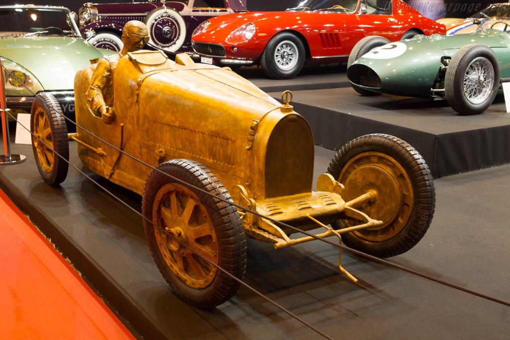 Bugatti Sculpture    - 2014 Retromobile