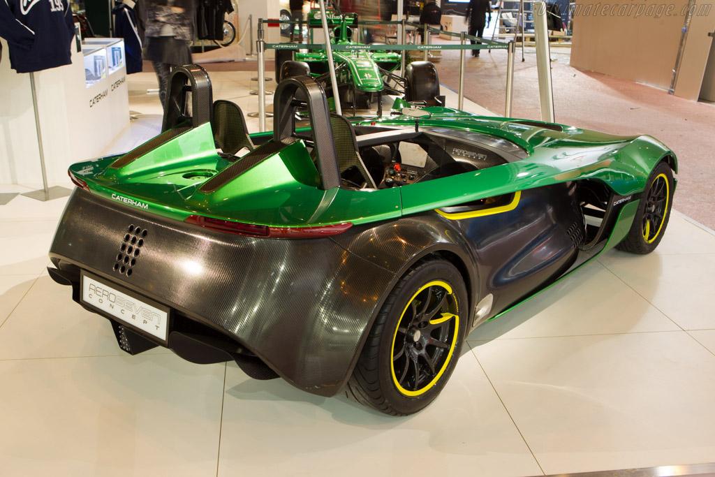 Caterham Aeroseven Concept    - 2014 Retromobile