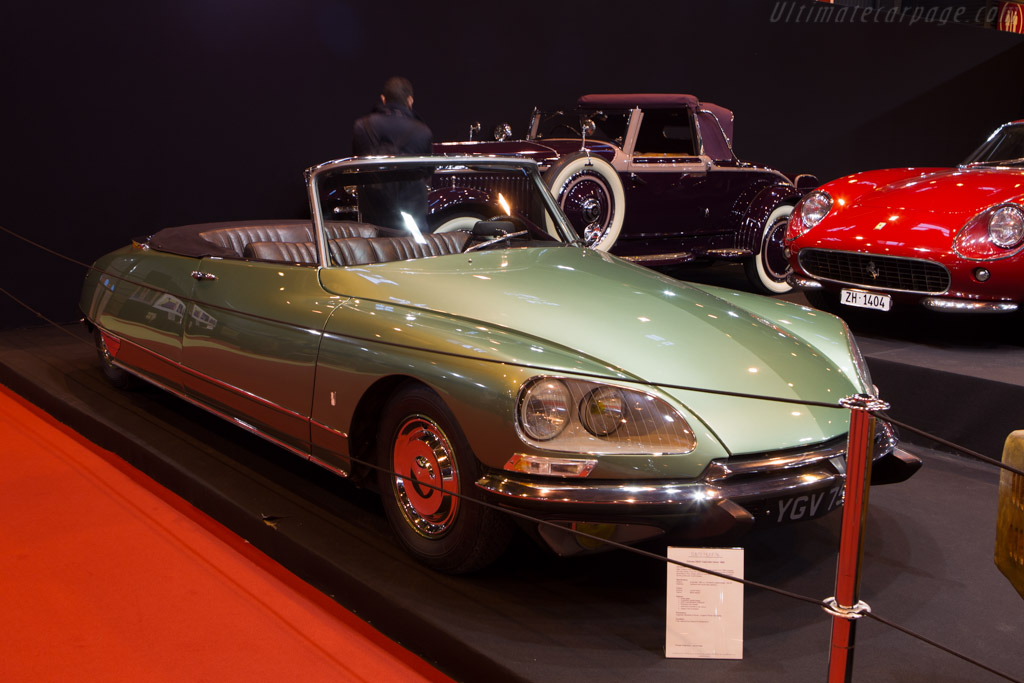 Citroën DS21 Cabriolet    - 2014 Retromobile