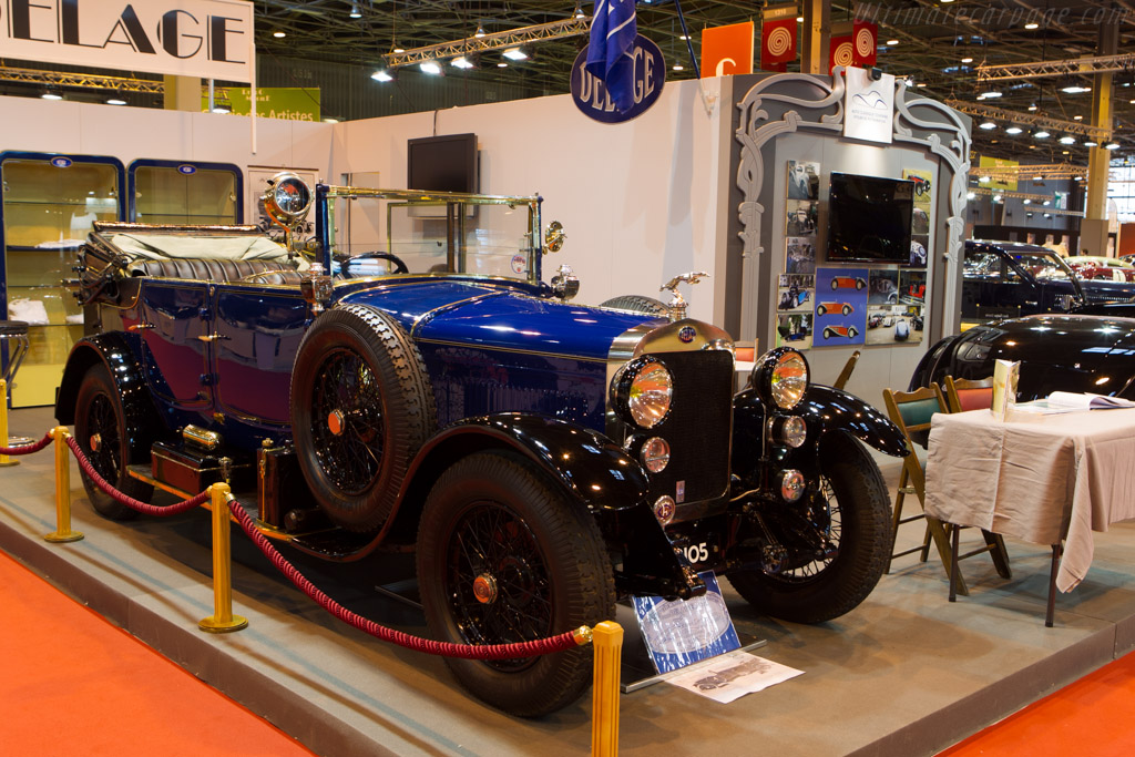 Delage DM    - 2014 Retromobile