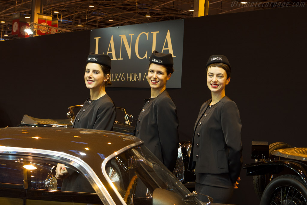 Lancia Display    - 2014 Retromobile