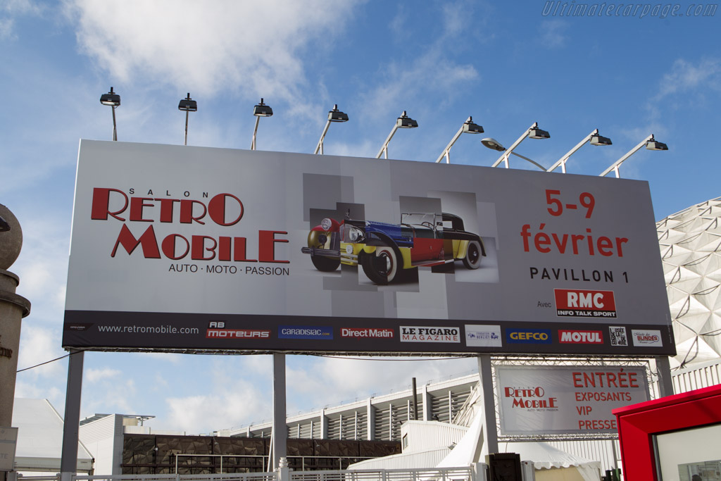 Welcome to Retromobile    - 2014 Retromobile