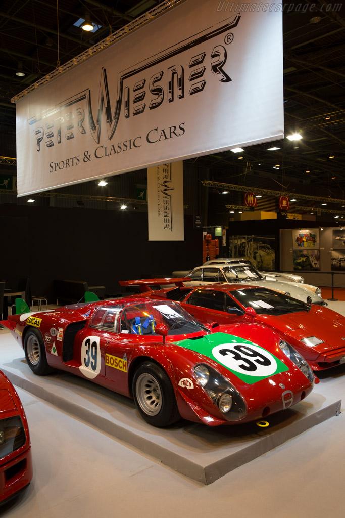 Alfa Romeo 33/2 Daytona Coda Lunga - Chassis: 75033.017 - Entrant: Peter Wiesner Sports & Classic Cars  - 2015 Retromobile