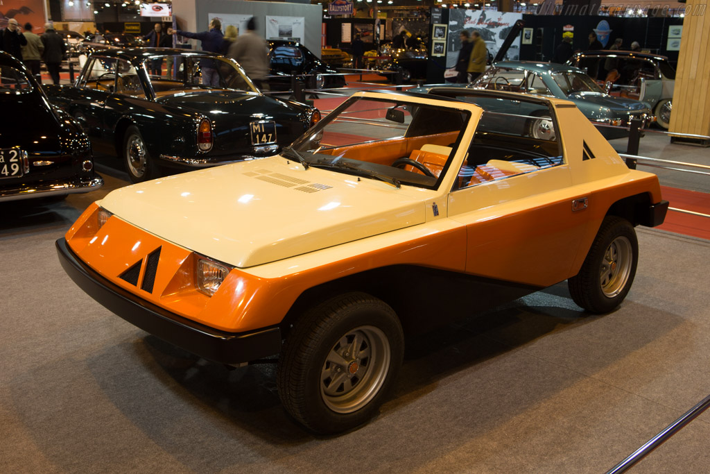 Autobianchi A112 Giovani  - Entrant: Lopresto Collection  - 2015 Retromobile