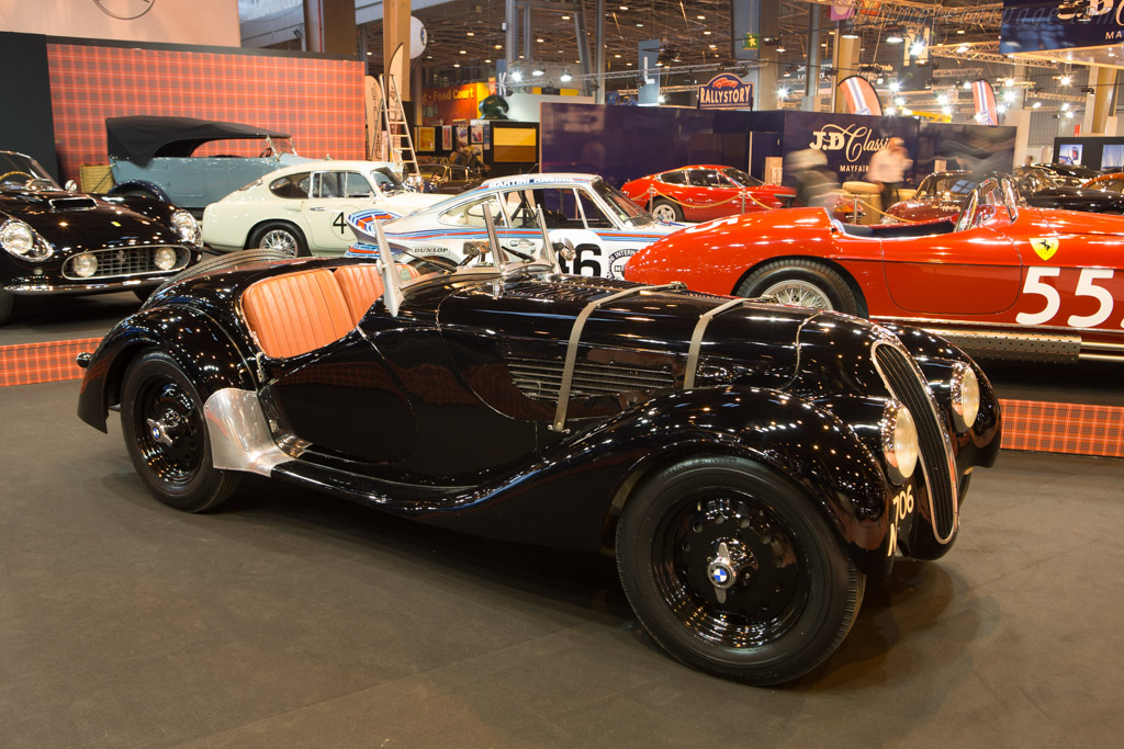 BMW 328 - Chassis: 85038 - Entrant: Fiskens  - 2015 Retromobile