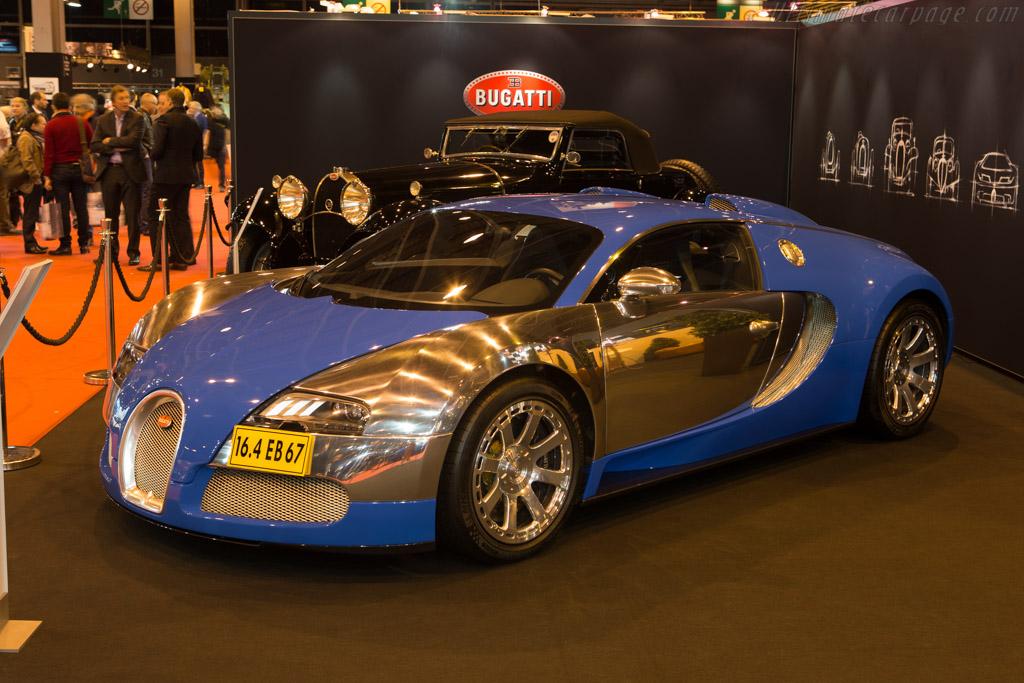 Bugatti 16.4 Veyron Blue Centenaire  - Entrant: Bugatti Automobiles  - 2015 Retromobile