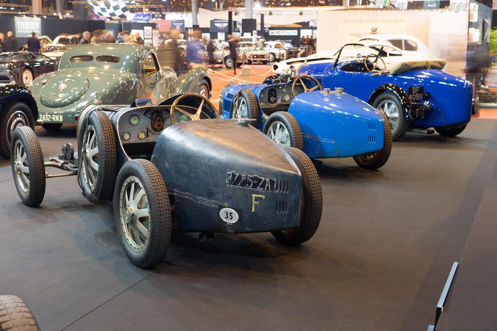 Bugatti Type 35C - Chassis: 4941 - Entrant: Lukas Hüni  - 2015 Retromobile