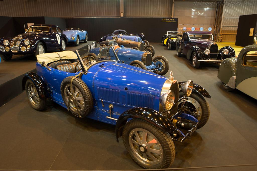 Bugatti Type 43 Grand Sport - Chassis: 43181 - Entrant: Lukas Hüni  - 2015 Retromobile
