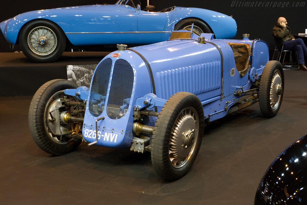 Bugatti Type 53 - Chassis: 53002 - Entrant: Lukas Hüni  - 2015 Retromobile