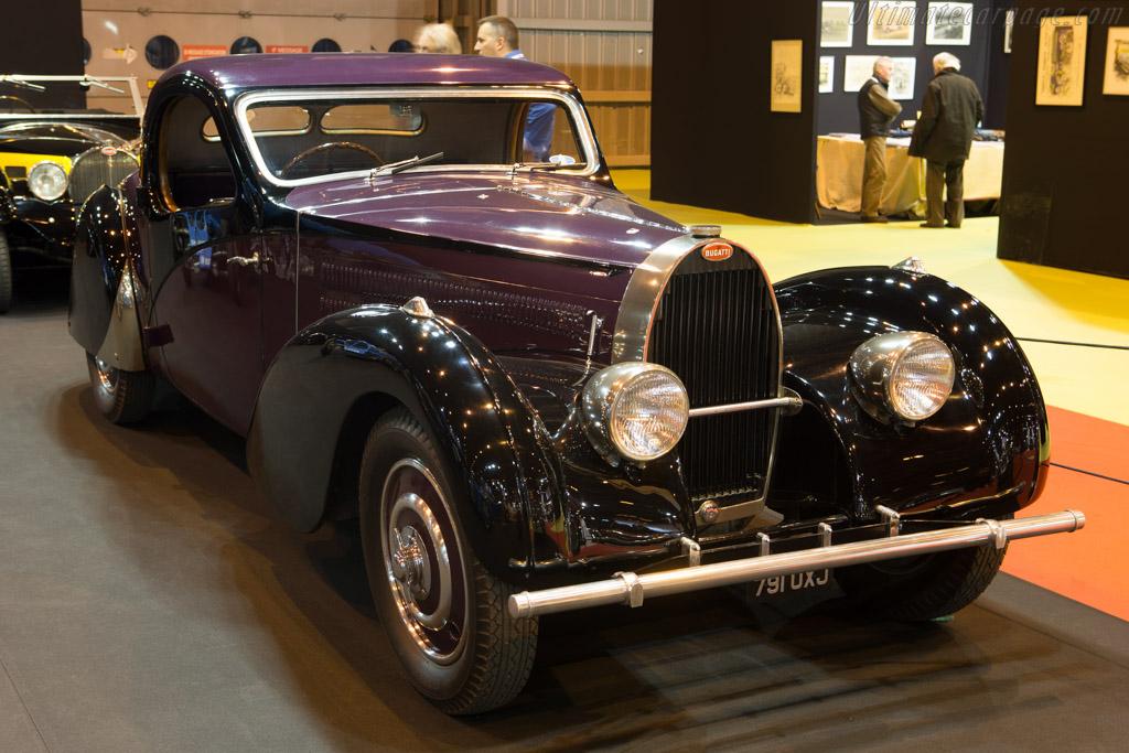 Bugatti Type 57 C Atalante - Chassis: 57718 - Entrant: Lukas Hüni  - 2015 Retromobile