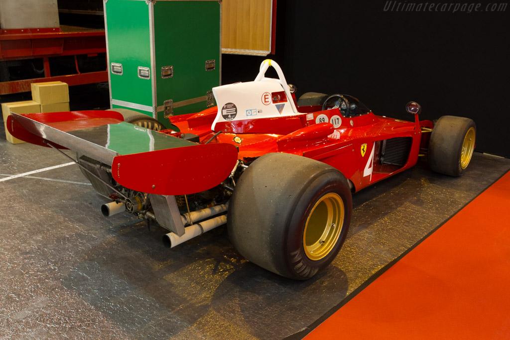 Ferrari 312 B3 'Spazzaneve' - Chassis: 009 - Entrant: Tradex  - 2015 Retromobile